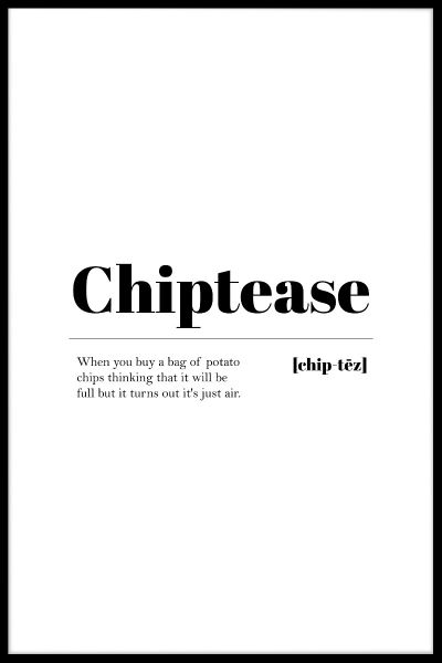 Chiptease Poster