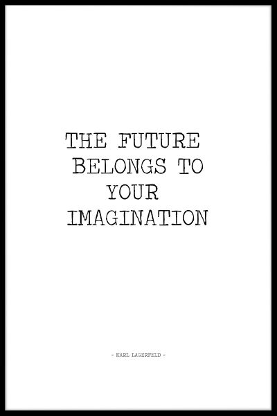 Your Imagination Poster