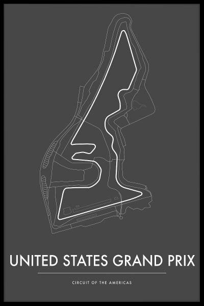 Circuit of the Americas US GP Poster