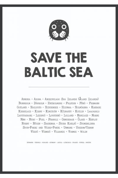 Save The Baltic Sea Poster