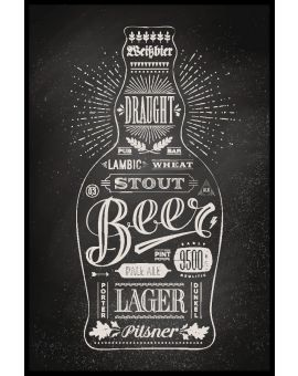 Bottle of Beer Poster