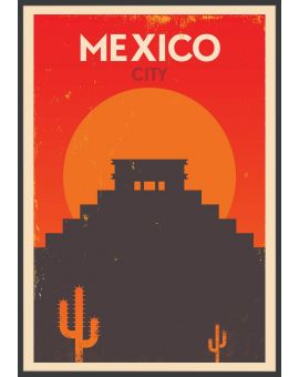 Mexico Vintage Poster