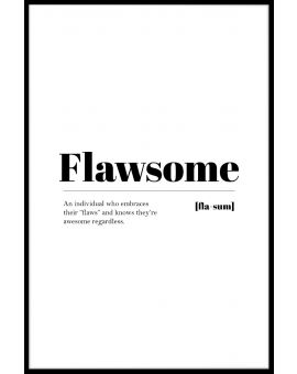 Flawsome Poster