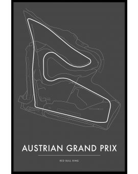 Red Bull Ring Austrian GP Poster