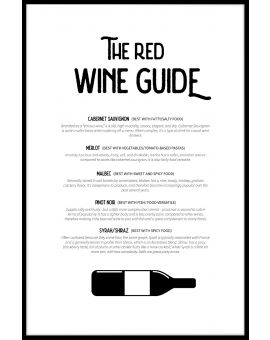 Red Wine Guide Poster