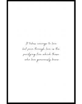 Courage to Love Poster