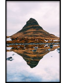 Mountain Reflections N02 Poster