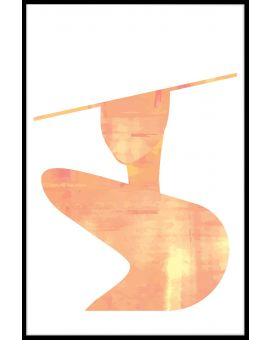 Abstract Fashion Shape Poster